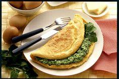 Omelette agli spinaci 2 - Donna Moderna