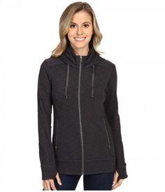 Kuhl - Mova Hoodie (Charcoal Heather) Women's Sweatshirt