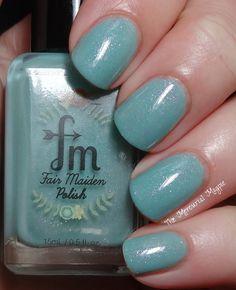 Fair Maiden Polish Magic Carpet Ride #blue