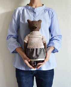 Hey, I found this really awesome Etsy listing at https://www.etsy.com/listing/227892083/tayra-the-bear-primitive-bear-child