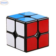 Puzzle magic cube Funny Fidget Cube Hand Spin Anti-stress Toy Children Toys Educational ,Puzzle Speed Challenge Gifts 2x2x2