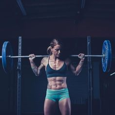 "8 Weightlifters On Instagram Tell Us About Their Bodies #refinery29  http://www.refinery29.com/female-bodybuilders-instagram#slide-1  Christmas Abbott (@christmasabbott)Favorite pre-workout snack: ""Boar's Head deli meat, half an apple, and some peanut butter.""Favorite post-workout snack: ""I have an immediate recovery shake within minutes after finishing my WOD. ..."