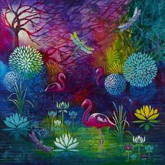 Intuitive Paintings - Susan Farrell Art