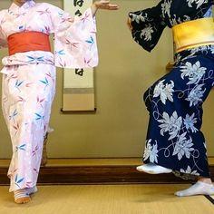 let's dance with yukata ^^ #yukata #pupuru #wifirental
