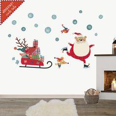 vinilo infantil de Navidad http://www.decohappy.com/producto/vinilo-infantil-navidad-decohappy/