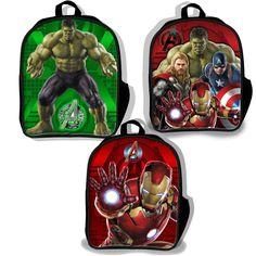 Marvel Avengers Age of Ultron Lenticular 3D Kids School Backpack - LuggagePlanet.com