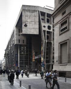 Banco de Londres, Buenos Aires, Argentina. Arquitecto: Clorindo Testa (1923-2013)
