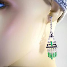 Antique Art Deco Platinum 1.80 cttw Diamond by BellmansOnlineStore