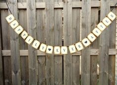 Happily Ever After Banner Fairytale Wedding Decoration Photo Prop Rustic Vintage Style Garland by PapergirlStudios on Etsy https://www.etsy.com/listing/247736361/happily-ever-after-banner-fairytale