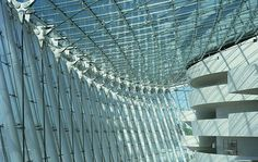 Gallery of Kauffman Center for the Performing Arts / Moshe Safdie - 5 Kansas City Missouri, Arts And Crafts House, Glass Roof, Roof Design, Most Beautiful Cities, Green Building, Architecture Details, Interior Architecture, Facade