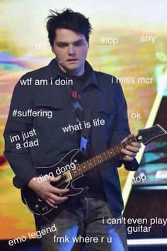 That's why you need to get mcr back together gerard!
