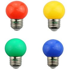 Zweihnder 0.6W G45 E27 Colorful Golf Ball Bulb-1.30 and Free Shipping| GearBest.com