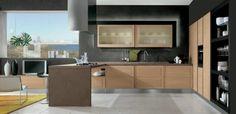 La cuisine bois et noir - l'élégance s'invite dans la cuisine pour une ambiance de chaleur et de luminosité! Des photos et des idées irrésistibles!