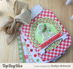 Mason Jar Recipe Book - Crafts for Christmas - Top Dog Dies Blog