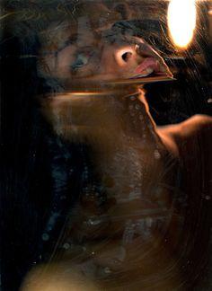 scannography self portrait by Liz Atkin