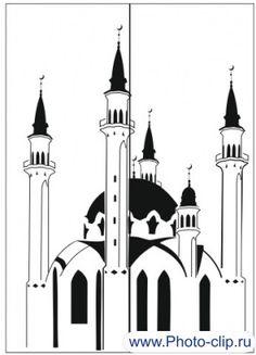 Пескоструйный рисунок Мечеть №113