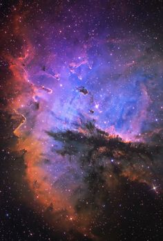 Behold the Pacman Nebula, NGC 281, a large emission nebula in the constellation of Cassiopeia. (Astrodon Imaging)