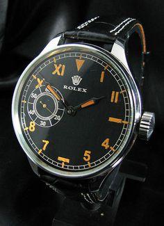 Rolex Vintage WWII Era 1940's Steel Watch Large Size | eBay