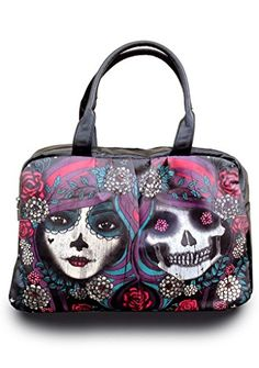 Jawbreaker Day of the Dead Mirrored Bag 2470f9dc252c3