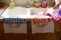 dishes suck. true. i hate them. i would rather do 100 loads of  laundry than one sink of dishes