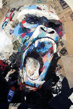 pëdro .2011 .collage 3mx2,50m http://p-e-d-r-o.tumblr.com/