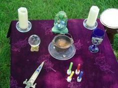 An altar or sacred space is a place where ones goes when  to center,  pray, leave offerings of gratitude and connect with Source.  Praying at alters is uplifting to the soul and we have numerous a Sacred Spaces and  they provide a place  keep significant spiritual objects that remind us of our connection to God/Goddess.