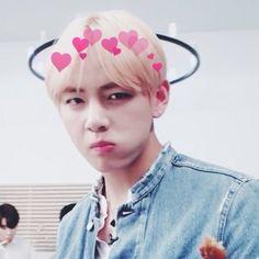 Resultado de imagen para taehyung heart