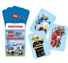 Lets Party By Amscan LEGO City Memory Game                                                                                                                                                                                 More