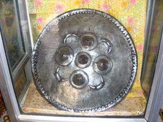 Shield of Sri Guru Gobind Singh Ji, the Guru Ji distributed gold and coins to his army in this shield at Nanded