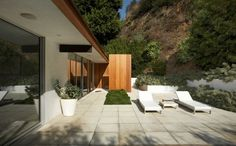 ray kappe architect / ghassemieh residence, rising glen road los angeles