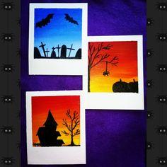 My Arts, Halloween, Painting, Painting Art, Paintings, Painted Canvas, Drawings, Spooky Halloween