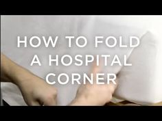 How To Fold Hospital Corners - Front + Main Age Rewind Concealer Shades, Hospital Corners, I Heart Organizing, How To Fold Towels, Know What You Want, Homekeeping, Washing Clothes, Loreal, Life Hacks