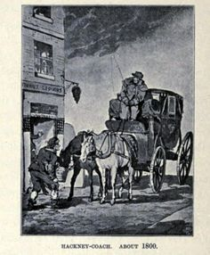 Two Nerdy History Girls: The Hackney Coach in the 1830s