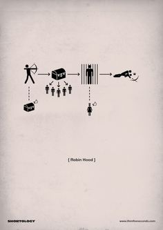 New Clever Pictogram Movie Posters by H-57 - My Modern Metropolis