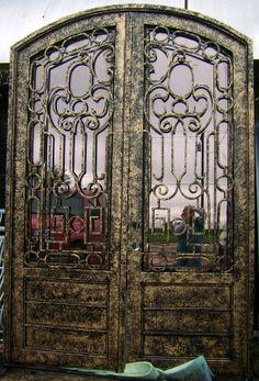 Doors and Windows -- Wrought Iron Entry Doors