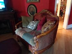 antique giant chair horner style