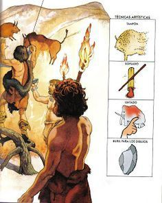 PINTURAS RUPESTRES Ancient History, Art History, Stone Age Art, Art Curriculum, Mystery Of History, Montessori Materials, Ice Age, Gods And Goddesses, School Projects