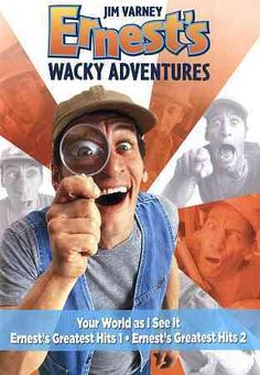 This collection stars Jim Varney as the goofy, lovable character Ernest P. Worell. Titles include YOUR WORLD AS I SEE IT, ERNEST'S GREATEST HITS 1 and ERNEST'S GREATEST HITS 2.
