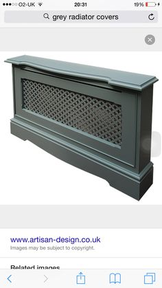 Give Your Dwelling A Fashionable Make Over On A Price range With A Designer Radiator - Homemidi Radiator Heater Covers, Modern Radiator Cover, Baseboard Heater Covers, Baseboard Heaters, Georgian Interiors, Cast Iron Radiators, Designer Radiator, D House, Arquitetura