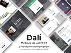 Dali Web Ui Kit by Hemant Gupta