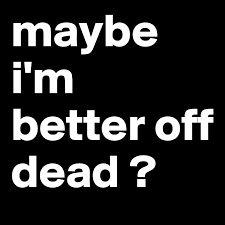 maybe i am.