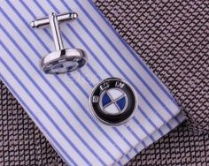 Luxusné manžetové gombíky so znakom BMW