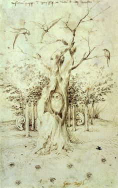 Hieronymus Bosch. The Wood has Ears, The Field Eyes. 1505 Plus