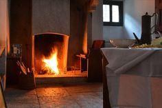 In cucina a Villa Puller www.dimoredarte.com