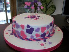 tortas de corazones - Buscar con Google