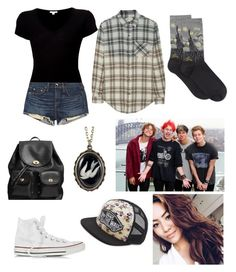 """""""Disneyland with 5sos and Mali!!"""" by fivesecondsoffashion9 ❤ liked on Polyvore"""