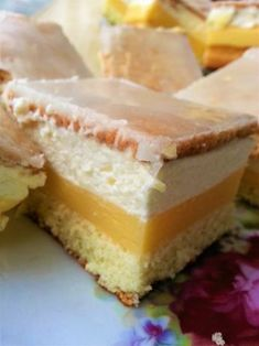 Mousse, Polish Recipes, Something Sweet, Cakes And More, Vanilla Cake, Cake Recipes, Cheesecake, Good Food, Food And Drink