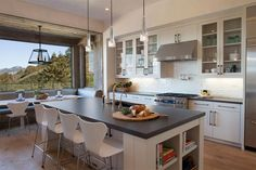 The location, the ranch style building, the materials equate to farmhouse but with a modern twi...