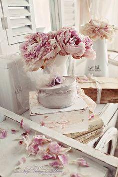 Du blanc des fleurs