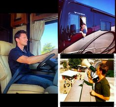 Brandon Johnson & the HGTV crew have wrapped up filming for HGTV RV 2013!